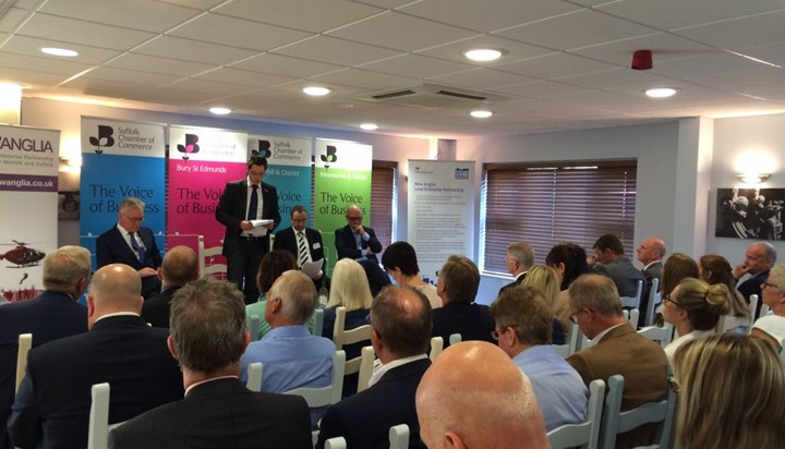 West Suffolk business get chance to hear about devolution deal