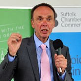"University of Suffolk Vice-Chancellor:  ""Our future is entirely about collaborating with businesses"""