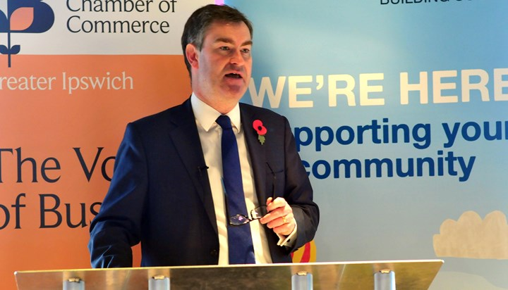 Chief Secretary to the Treasury visits Suffolk Chamber of Commerce