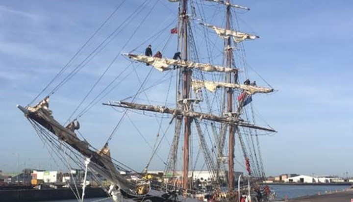 ABP Port of Lowestoft welcomes classic sailing ships