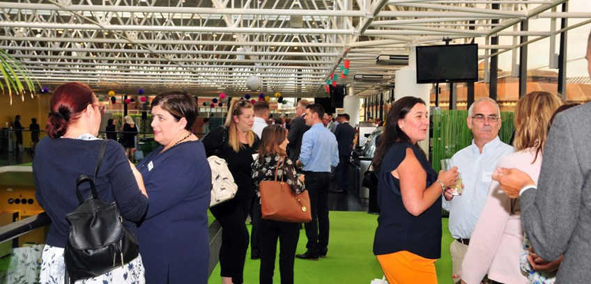 """High point"" of Suffolk business networking sees 200-plus attend"