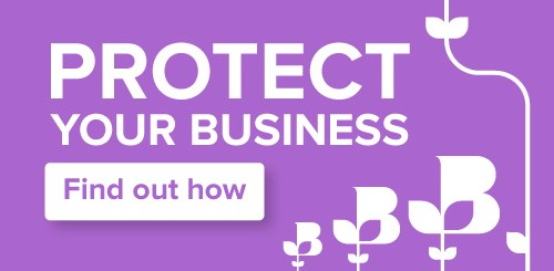 Protect your business graphic