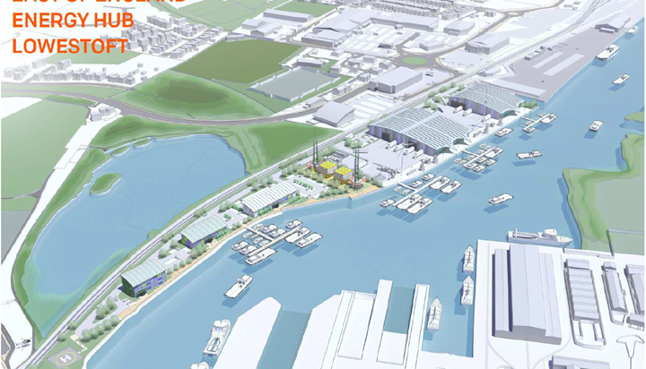 Port of Lowestoft showcases potential as new East of England Energy Hub