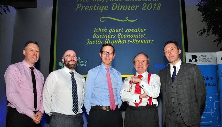 The Suffolk Chamber Prestige Dinner