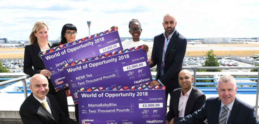 Heathrow kickstarts exporting ambitions of 20 SMEs with 'World of Opportunity Programme'