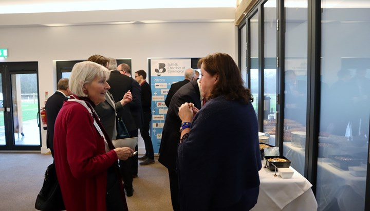 Business Brunch with Sandy Martin MP – a vision for Ipswich
