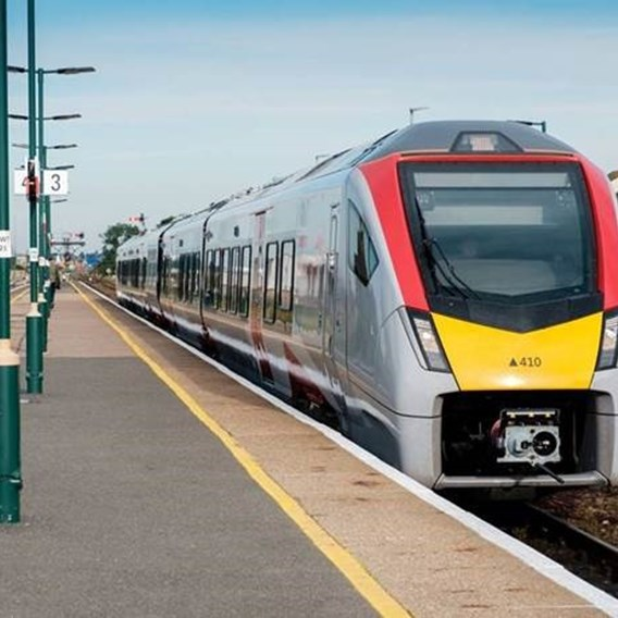 New era starts for Greater Anglia as first brand new train rolls into service