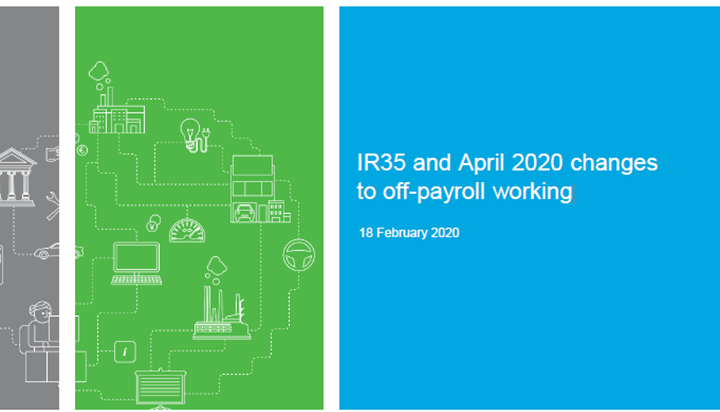 RSM: IR35 and April 2020 changes to off-payroll working