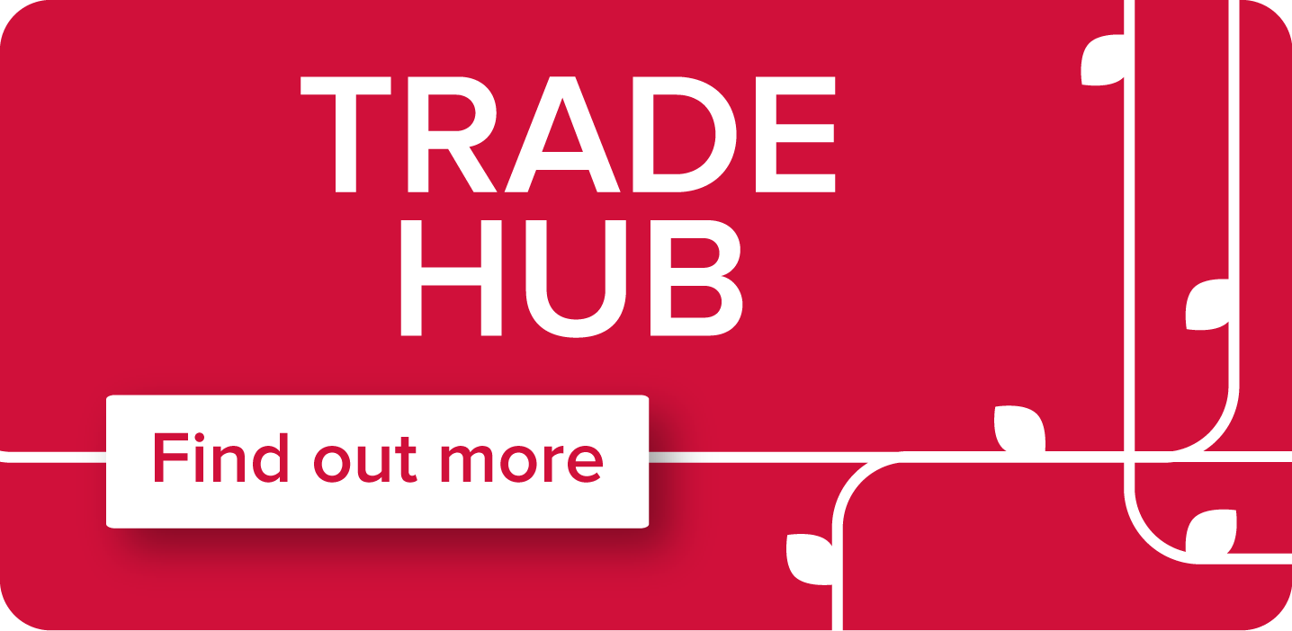 Trade Hub graphic and link