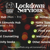 Lockdown Services from Headway Suffolk