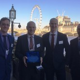 BAM Nuttall Broadlands Flood Alleviation project wins Institute of Collaborative Working,  Environmental Award