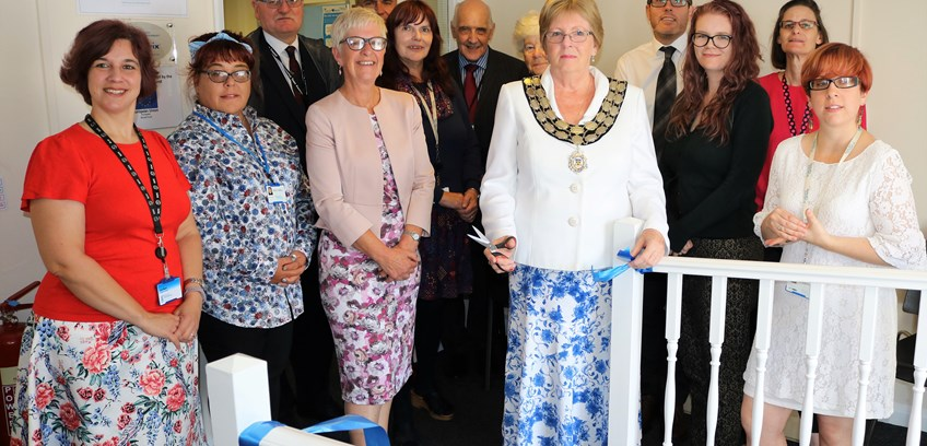 Mayor opens Realise Futures' Stowmarket Learning Centre