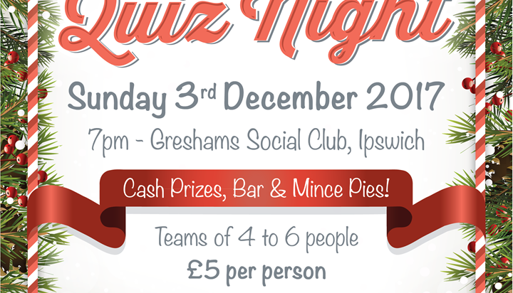 Local businesses sought to sponsor Charity Quiz Night