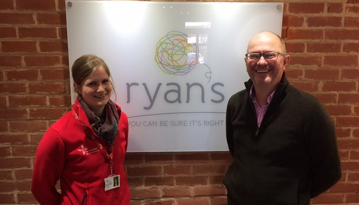 Ryan's Support East Anglian Air Ambulance