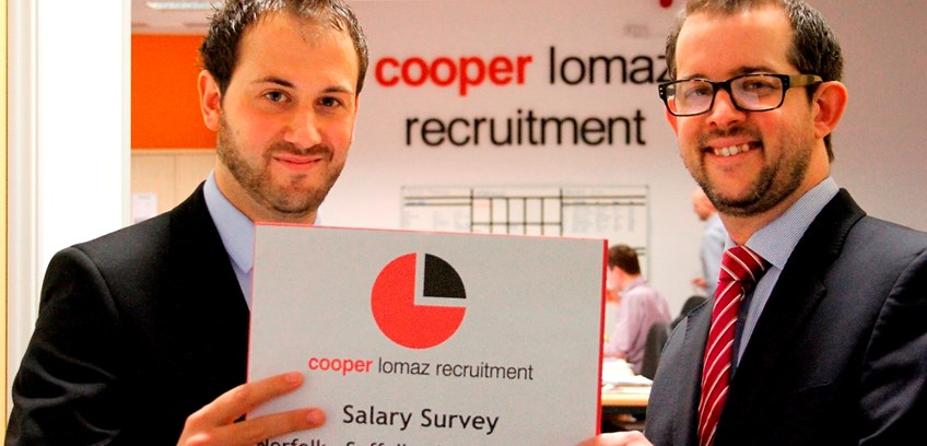 Demand for key personnel surging in buoyant Suffolk economy says 2014 salary survey