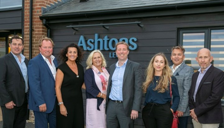 Ashtons welcomes guests to new Bury office