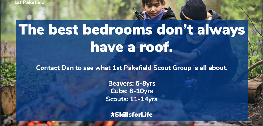 Wish to be involved in Scouting in Lowestoft, Suffolk?