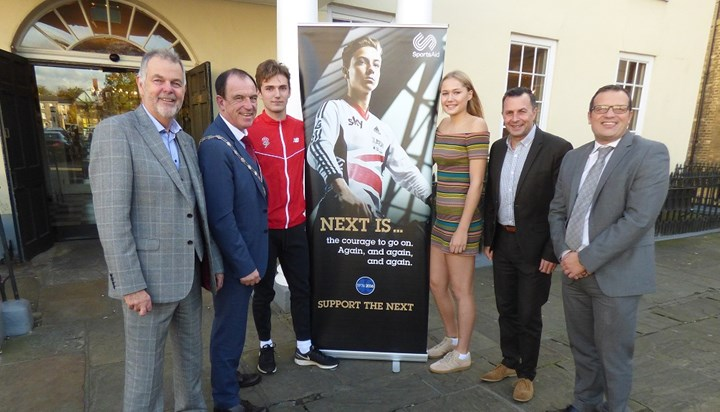 Former cricket star entertains Bury businesses