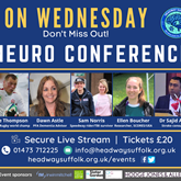 Join us for our virtual Neuro Conference on Wednesday!