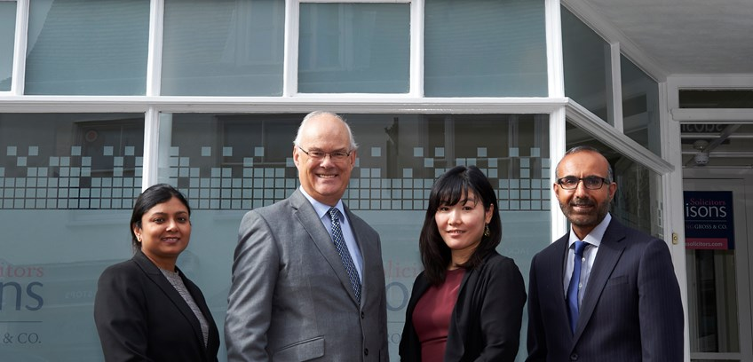 Ellisons Solicitors incorporating Gross & Co.  expands its immigration offering