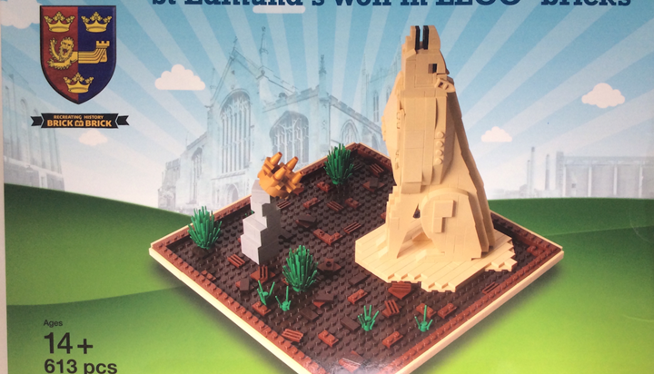 Limited Edition LEGO®️ Certified St Edmundsbury Cathedral and Wolf Kits on sale now!