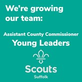 Suffolk Scouts Equipping Young People with Skills For Life – County Team Manager Young Leaders Required