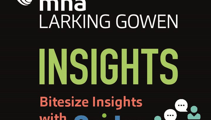 MHA Larking Gowen Bitesize Insights webinar with Spider