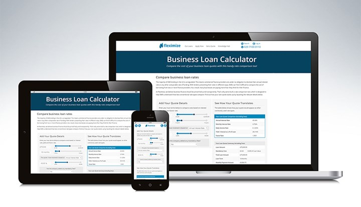 Fleximize Helps Businesses Understand 'True Cost' of Business Loans