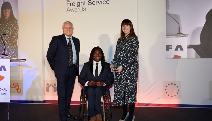 Wallis Shipping's Jenna Morgan wins National Young Freight Forwarder of the Year
