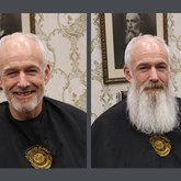 Chief Exec says goodbye to his beard for charity