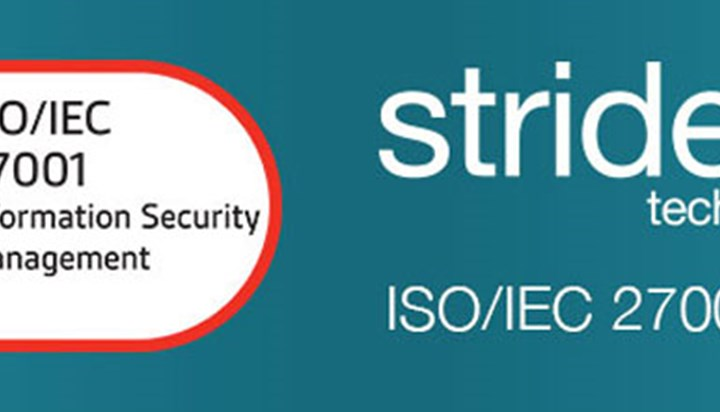 Strident is ISO/IEC 27001 Certified