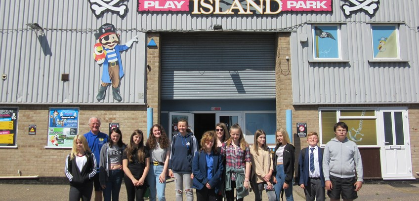 Annual Kids Day Out   by the Rotary Club of Lowestoft East Point