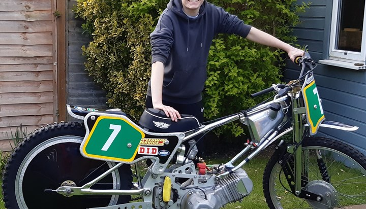 Life now for speedway crash survivor Sam Norris ahead of Headway Conference speech