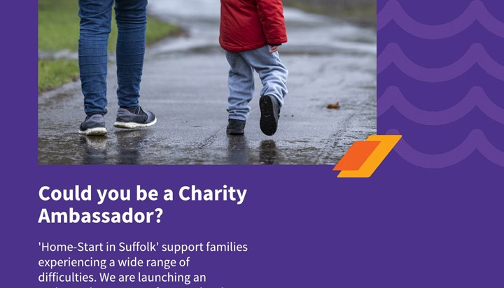 Could you be a charity ambassador?