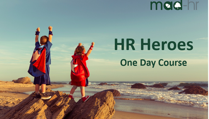 £100 off our HR Heroes training event, 5th April 2017