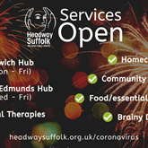 Headway Suffolk services stay OPEN into 2021