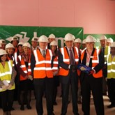 Lord Baker officially tops out new UTC Cambridge