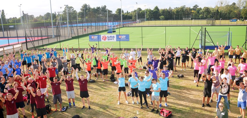 Sign up to the corporate sports day -  The Suffolk Workplace Games 14th September 2018