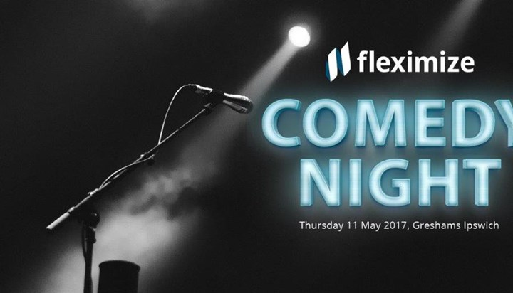 Fleximize to Host Comedy Night and Charity Auction for Business Owners