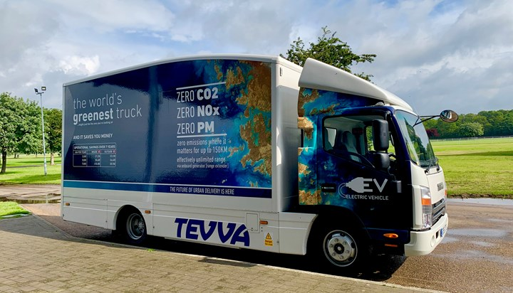 East Anglian Transport Industry Considers Future of Electric Freight Transportation